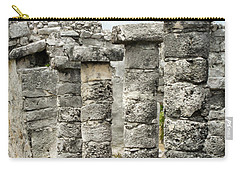 Carry-all Pouch featuring the photograph Tulum by Silvia Bruno