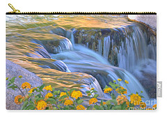 Tumbling Waters Carry-all Pouch by Deb Halloran