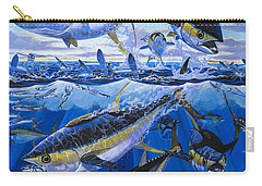 Tuna Rampage Off0018 Carry-all Pouch by Carey Chen