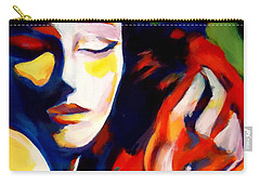 Carry-all Pouch featuring the painting Tuning by Helena Wierzbicki
