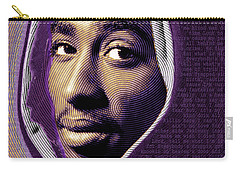 Tupac Shakur And Lyrics Carry-all Pouch