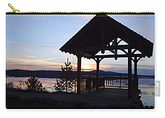 Tupper Lake Sunset Over Raquette Pond Carry-all Pouch