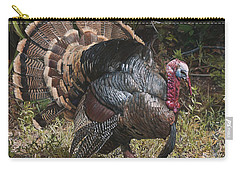 Turkey In The Weeds Carry-all Pouch
