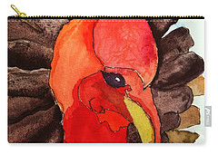 Turkey In Waiting Carry-all Pouch