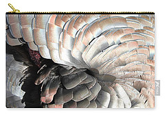 Carry-all Pouch featuring the photograph Turkey Siesta by Diane Alexander