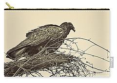 Turkey Vulture V2 Carry-all Pouch by Douglas Barnard