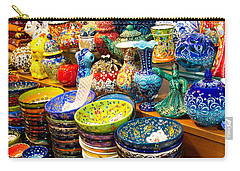 Turkish Ceramic Pottery 1 Carry-all Pouch