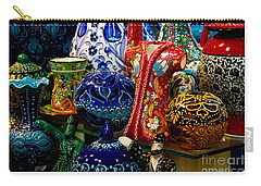 Turkish Ceramic Pottery 2 Carry-all Pouch