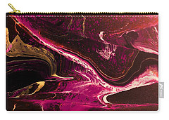 Carry-all Pouch featuring the photograph Turmoil by Mike Breau