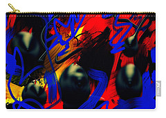 Turmoil Carry-all Pouch by Paulo Guimaraes