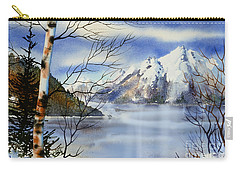 Turnagain View Carry-all Pouch by Teresa Ascone