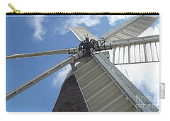Carry-all Pouch featuring the photograph Turning In The Wind by Tracey Williams