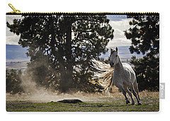 Carry-all Pouch featuring the photograph Turning On A Dime D3512 by Wes and Dotty Weber