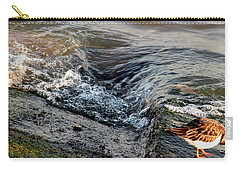 Turnstone By The Water Carry-all Pouch