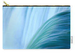 Turquoise Blue Waterfall Carry-all Pouch