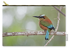 Turquoise Pendant.. Carry-all Pouch by Nina Stavlund