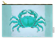 Turquoise Seashells I Carry-all Pouch