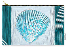 Turquoise Seashells Xxiii Carry-all Pouch