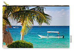 Turquoise Waters In Cozumel Carry-all Pouch