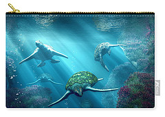 Turtle Alley Carry-all Pouch