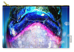 Carry-all Pouch featuring the digital art Turtle by Daniel Janda