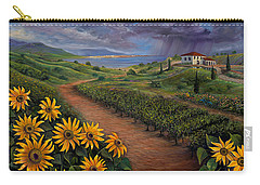 Tuscan Landscape Carry-all Pouch by Claudia Goodell