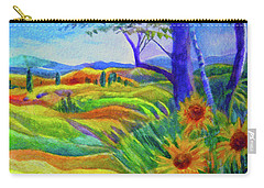 Tuscan Sunflowers Carry-all Pouch