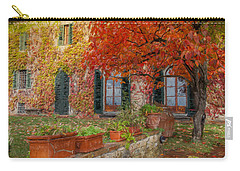 Tuscan Villa In Autumn Carry-all Pouch