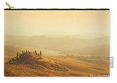 Tuscan Villa Sunrise Carry-all Pouch by iPics Photography