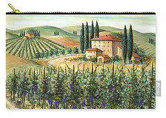 Tuscan Vineyard And Villa Carry-all Pouch