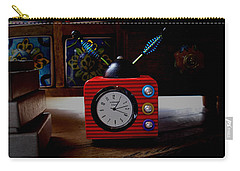 Tv Clock Carry-all Pouch