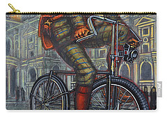 Bob On His Bantam St Pauls London Carry-all Pouch by Mark Jones