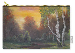 Twilight Fall  Carry-all Pouch by Sorin Apostolescu