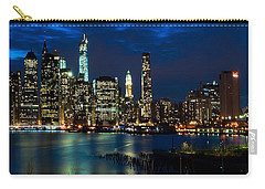 Twilight Nyc Panorama Carry-all Pouch