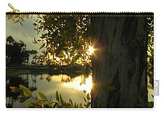 Carry-all Pouch featuring the photograph Twilight Splendor by Deb Halloran