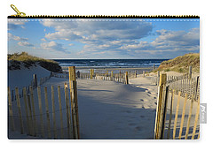 Golden Hour Beach Carry-all Pouch by Dianne Cowen