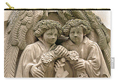 Twin Angels Carry-all Pouch
