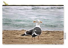 Twin Beaks Carry-all Pouch by Susan Wiedmann