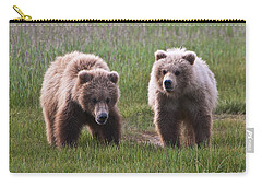 Twin Bear Cubs Carry-all Pouch