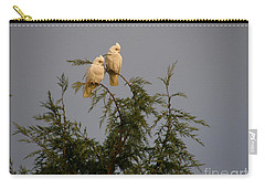 Twin Cockatoos Carry-all Pouch