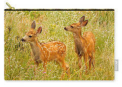 Twin Fawns Carry-all Pouch