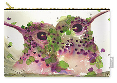 Twin Hummers Carry-all Pouch by Dawn Derman