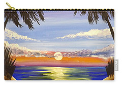 Twin Palms Carry-all Pouch by Darren Robinson
