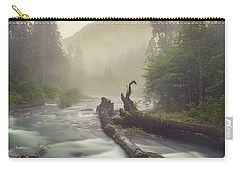 Twin Peaks Carry-all Pouch by Charlie Duncan
