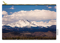 Twin Peaks Snow Covered Carry-all Pouch by James BO  Insogna