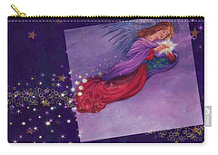 twinkling Angel with star Carry-all Pouch