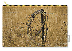 Twisted - Sepia Carry-all Pouch