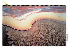 Carry-all Pouch featuring the photograph Twisted Sunset by Aimee L Maher Photography and Art Visit ALMGallerydotcom