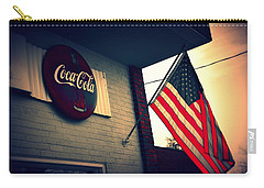 Carry-all Pouch featuring the photograph Two American Favorites by Lisa Wooten