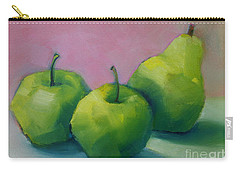 Two Apples And One Pear Carry-all Pouch